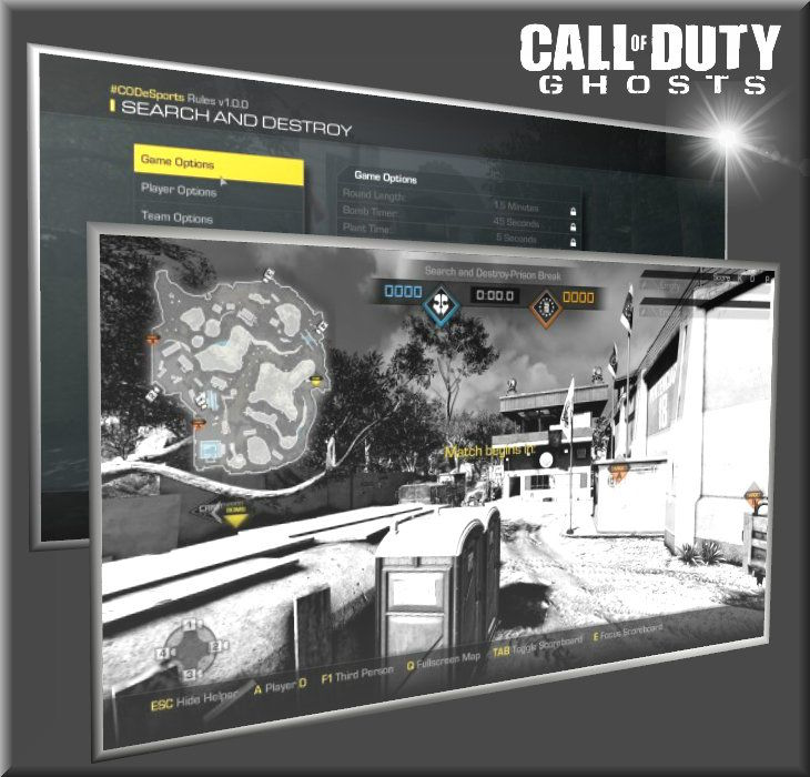 Call Of Duty Ghosts Broadcaster Mode