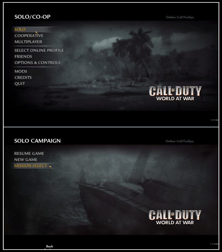 Call of Duty 5 World at War Save Game