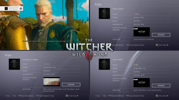 The Witcher 3 Wild Hunt Kupalar